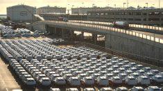Coches Audi Q3 en el Puerto de Barcelona (Foto: GUETTY)