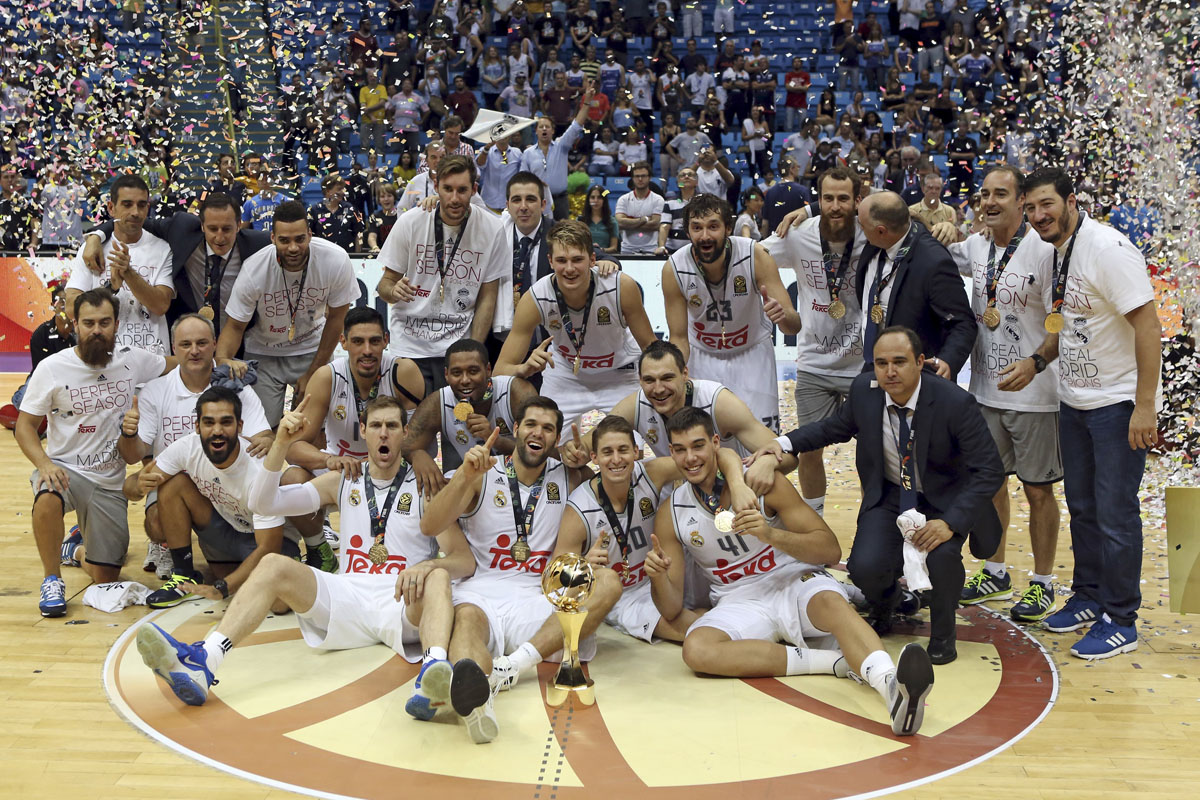 El Real Madrid se adjudicó la Copa Intercontinental de baloncesto. (Foto: Reuters)