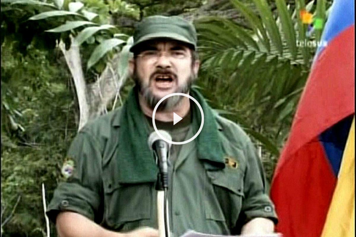 Timochenko, líder de las FARC.