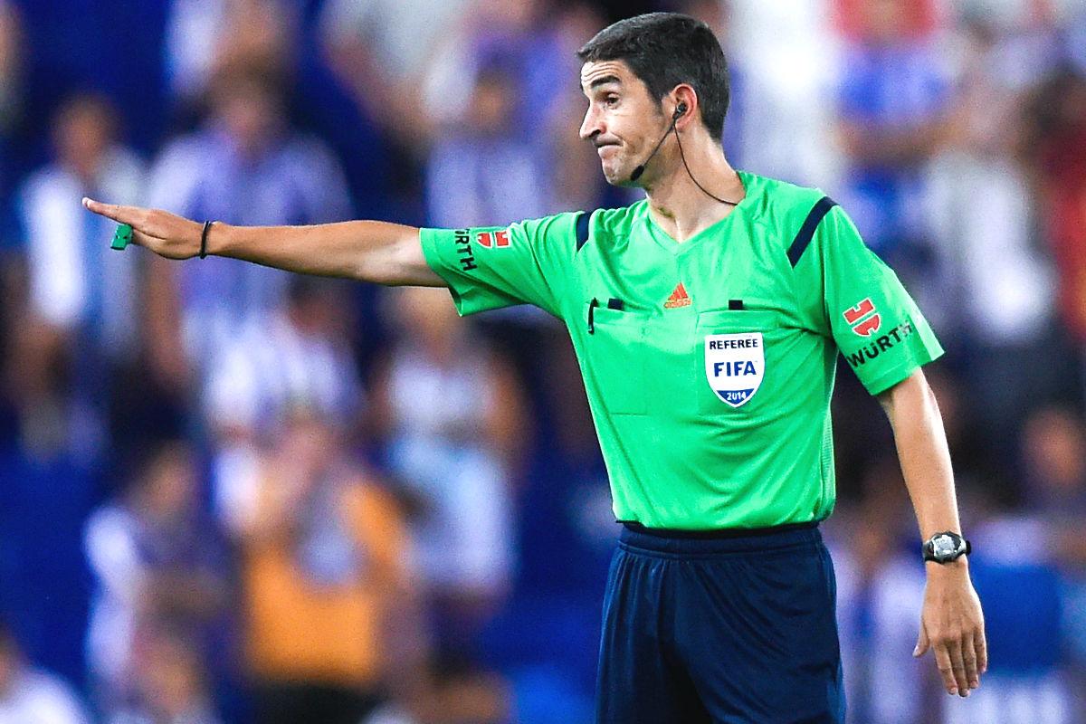 Undiano Mallenco, en un partido del último Mundial. (Getty)