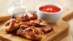Recetas de Alitas de pollo con salsa dulce de barbacoa
