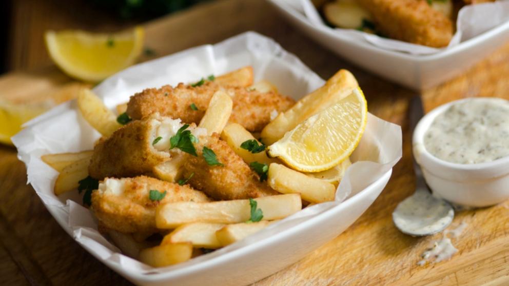 Receta de Fish & Chips caseros sin gluten