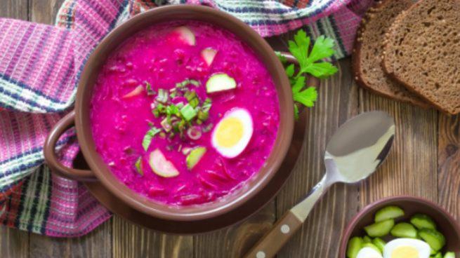 Gazpacho de remolacha: una receta fresquita para el verano