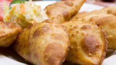 Receta de empanadillas de pollo al curry