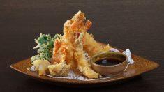 Receta de tempura de verduras y gambas