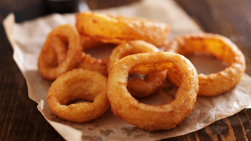 Receta de aros de cebolla sin gluten