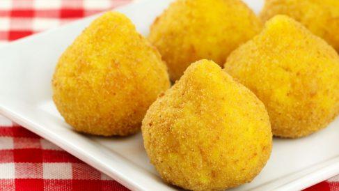 Receta de Croquetas de pera, gorgonzola y nueces aptas para celíacos