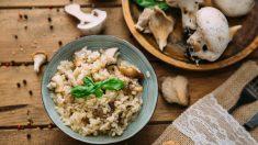 Receta de Cantharellus con arroz