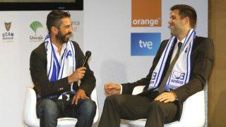 Juan Carlos Navarro y Felipe Reyes, dos mitos de la Liga Endesa.