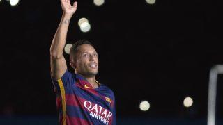 Adriano Correia, en la presentación de esta temporada con el Barcelona.