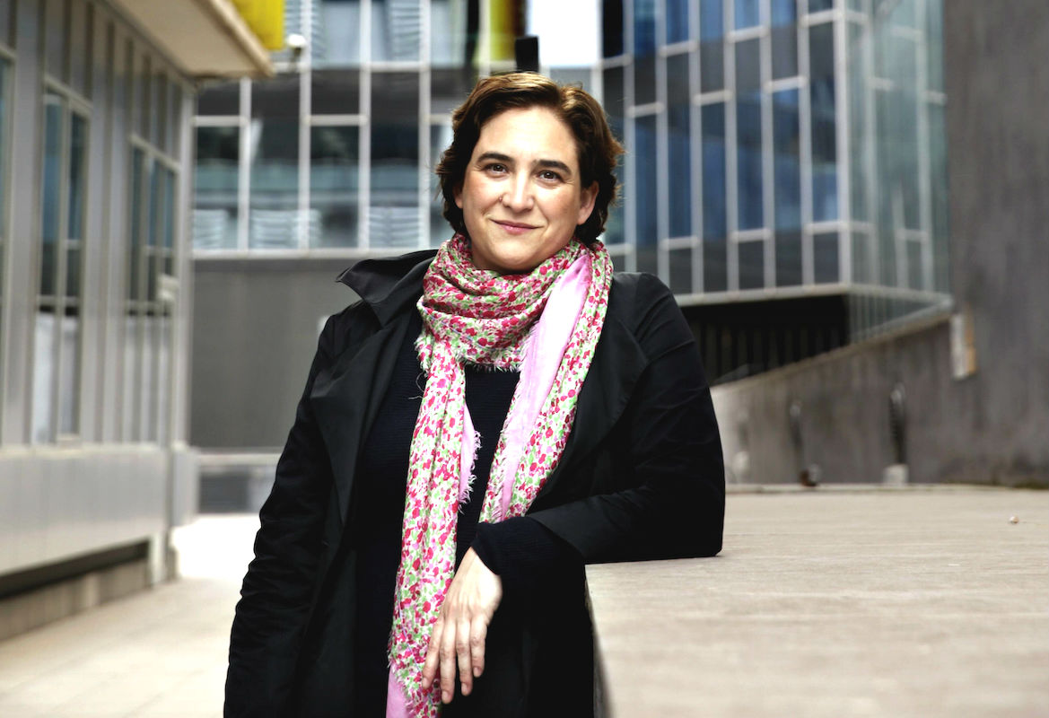 La alcaldesa de Barcelona, Ada Colau. (Foto: EFE)