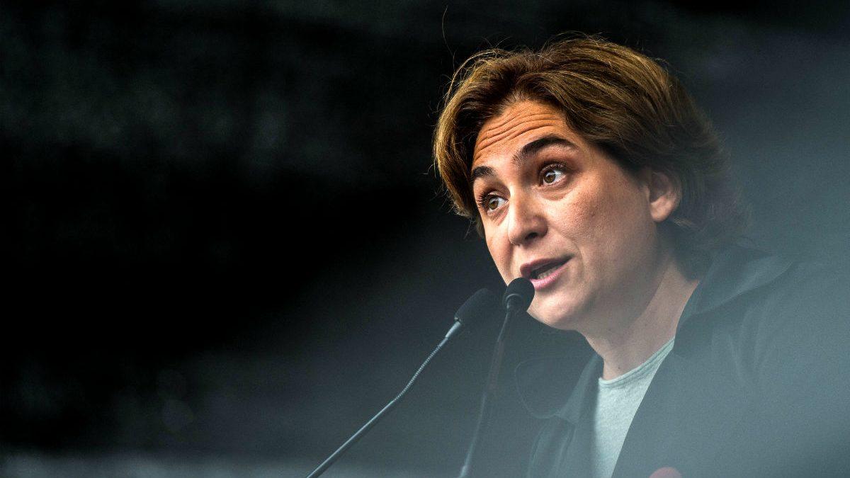 La alcaldesa de Barcelona, Ada Colau (Foto: GETTY).