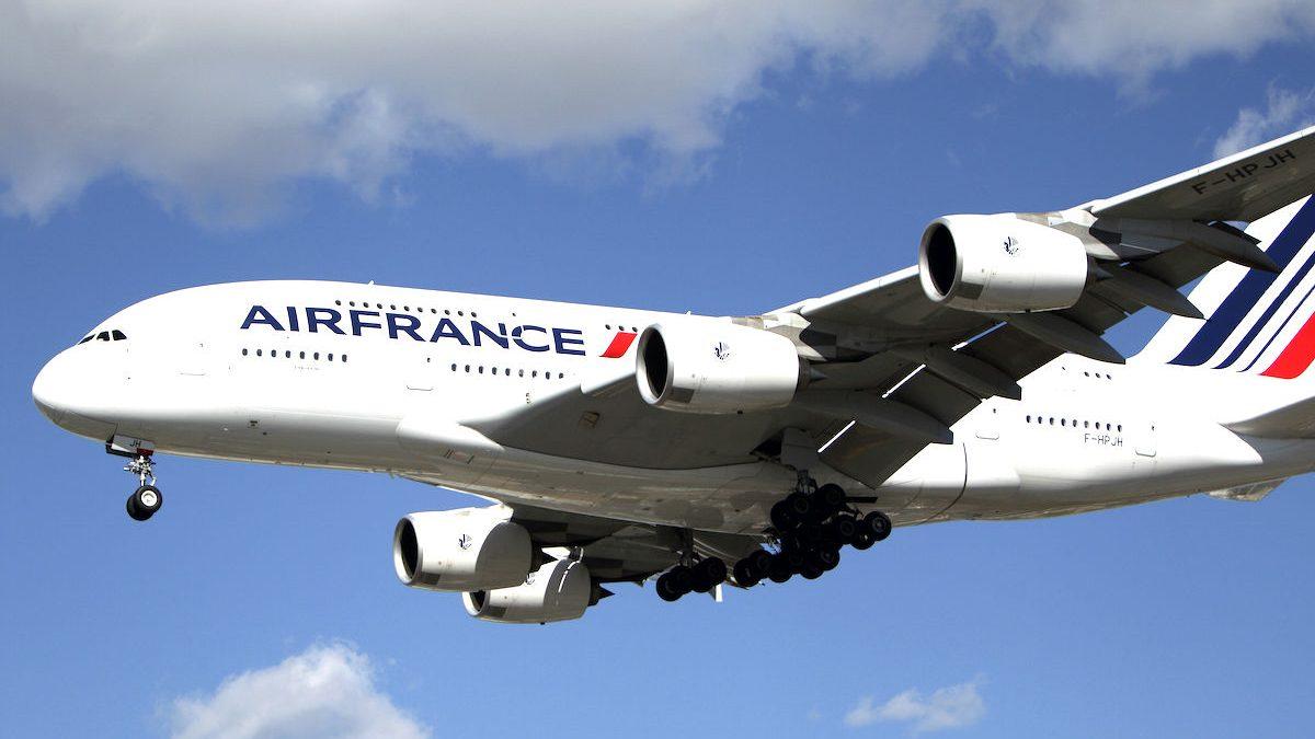 Un avión de la aerolínea Air France-KLM. (Foto: GETTY)