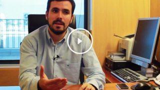 Alberto Garzon responde a nuestras preguntas (Foto: Enrique Falcón)