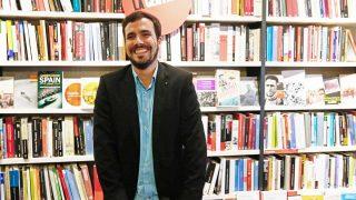 Alberto Garzón prefirió presentar su libro a votar los Presupuestos Generales (Foto: EFE)