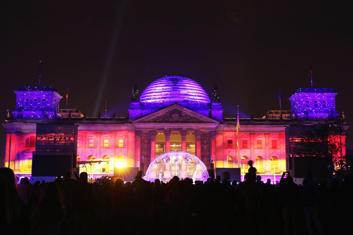 Alemania celebró los 25 años de su reunificación (Foto: Getty)