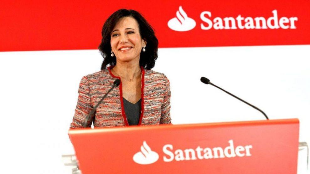 La presidenta de Banco Santander, Ana Patricia Botín (Foto: GETTY).