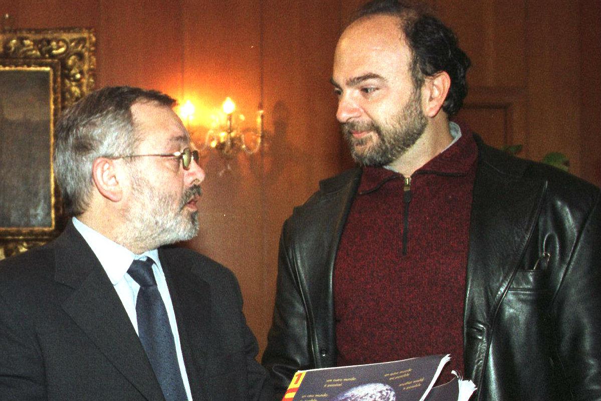 El director general de FAMSI y coordinador de Ahora en Común Córdoba, Antonio Zurita (derecha). (Foto: EFE/Archivo)