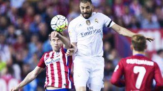 Benzema marcó para el Real Madrid en la primera mitad (Foto: Getty)