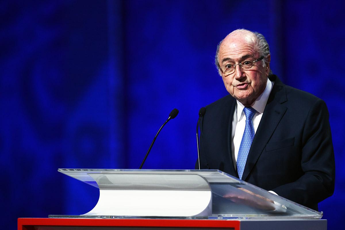 Jospeh Blatter, suspendido durante 90 días como presidente de la FIFA (Foto: Getty)