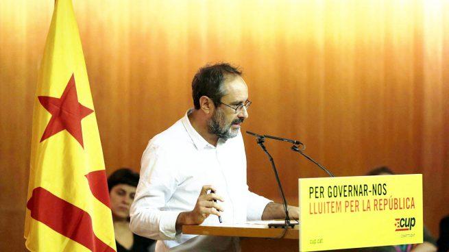 CUP-Antonio Baños-Artur Mas-Cataluña