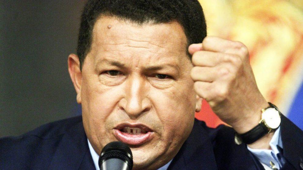 El ex presidente de Venezuela Hugo Chávez.