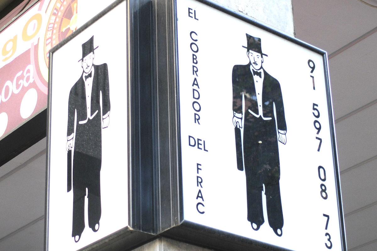 El Cobrador del frac ofrece sus servicios en España.(Foto: GETTY)