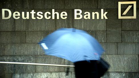Una oficina de Deutsche Bank.