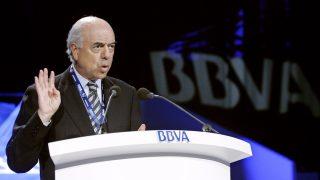 El presidente de BBVA, Francisco González. (Foto: EFE)