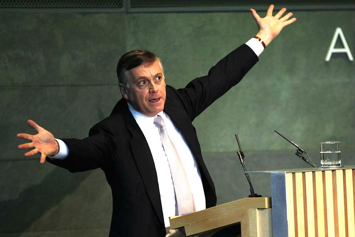 El catedrático de Economía Politica de la URJC, Jesus Huerta de Soto.