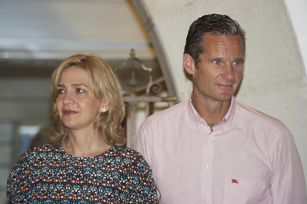 La infanta Cristina e Iñaki Urdangarin, en el Club Náutico de Palma de Palma en agosto de 2014 (Foto: Getty/Carlos Álvarez)