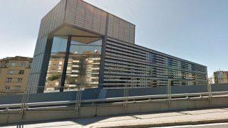 Sede de la empresa pública Infraestructures.cat, situada en la calle Vergós de Barcelona.