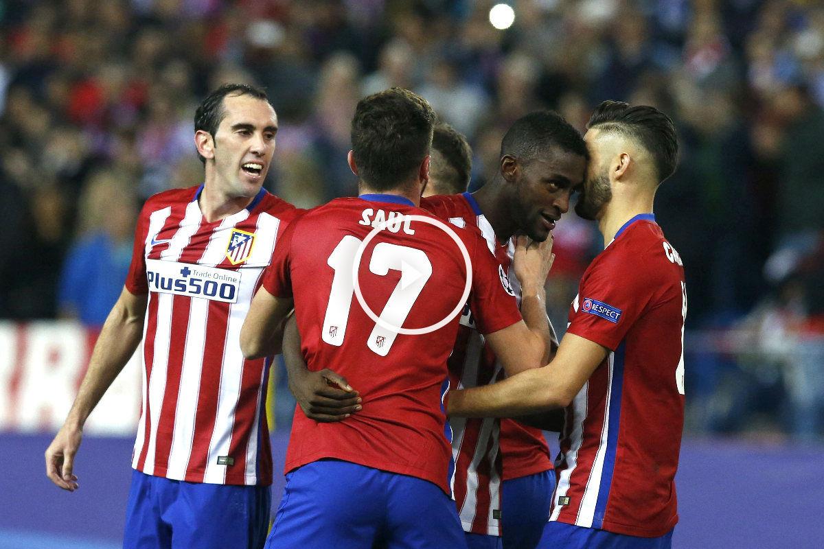 Jackson Martínez celebra su gol. (Foto: Efe)