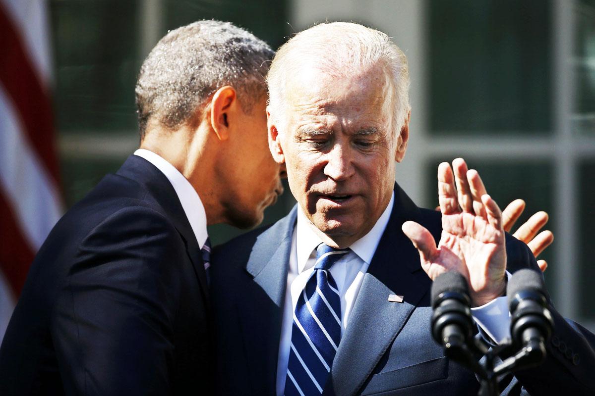 Joe Biden anunció, junto a Barack Obama, su retirada de la carrera por la presidencia (Foto: Reuters)