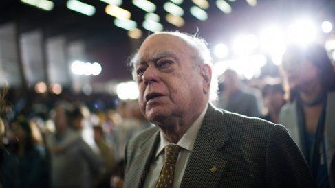 El ex presidente Jordi Pujol Soley, durante un acto de campaña de CiU en 2012 (Foto: Getty/David Ramos)