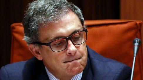Jordi Pujol Ferrusola, durante su comparecencia ante la comisión de investigación del Parlament catalán (Foto: Efe)