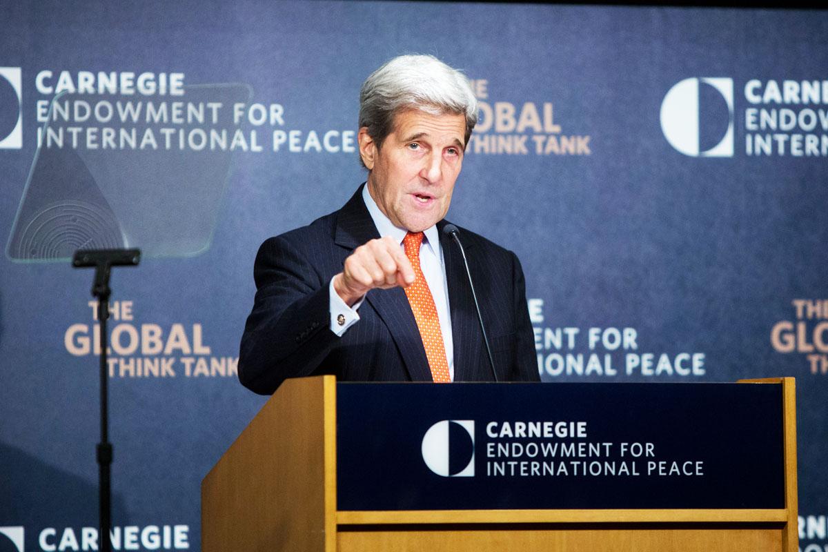 John Kerry, en Viena tratando la cuestión siria (Foto: Getty)