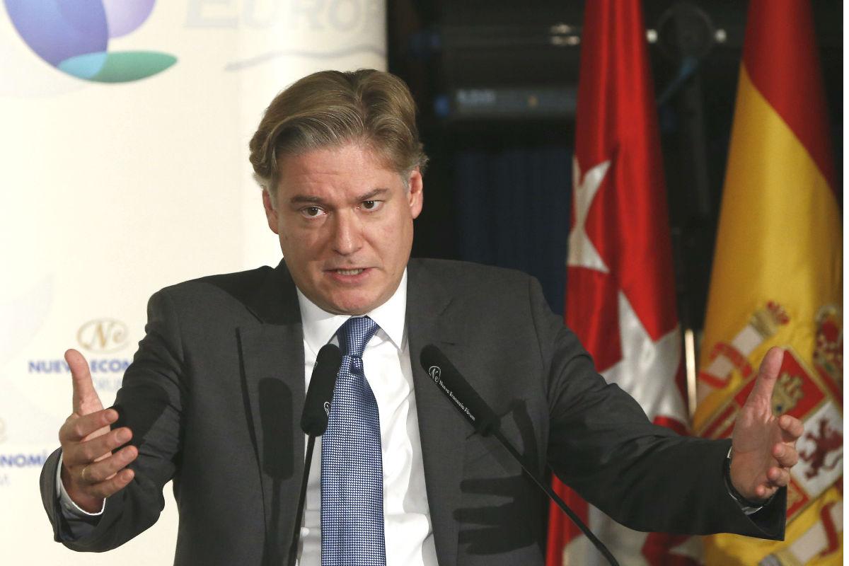 López Istúriz en la conferencia de Nueva Economía Fórum. (Foto: EFE)
