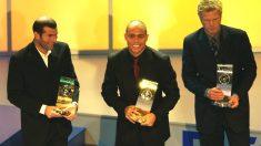 Ronaldo, Zidane y Kahn, en los extintos premios del FIFA World Player