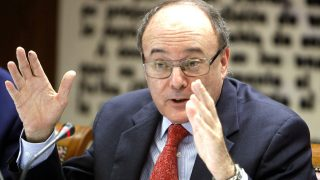 El gobernador del Banco de España, Luis María Linde. (Foto: EFE)