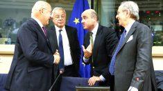 El ministro de Economía, Luis de Guindos, en el Parlamento Europeo. (Foto: EFE)