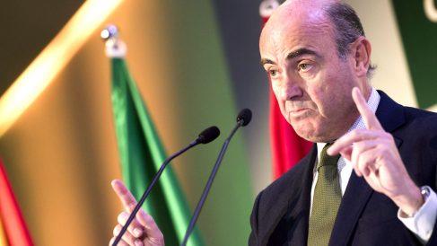 El ministro de Economía y Competitividad, Luis de Guindos. (Foto: EFE)