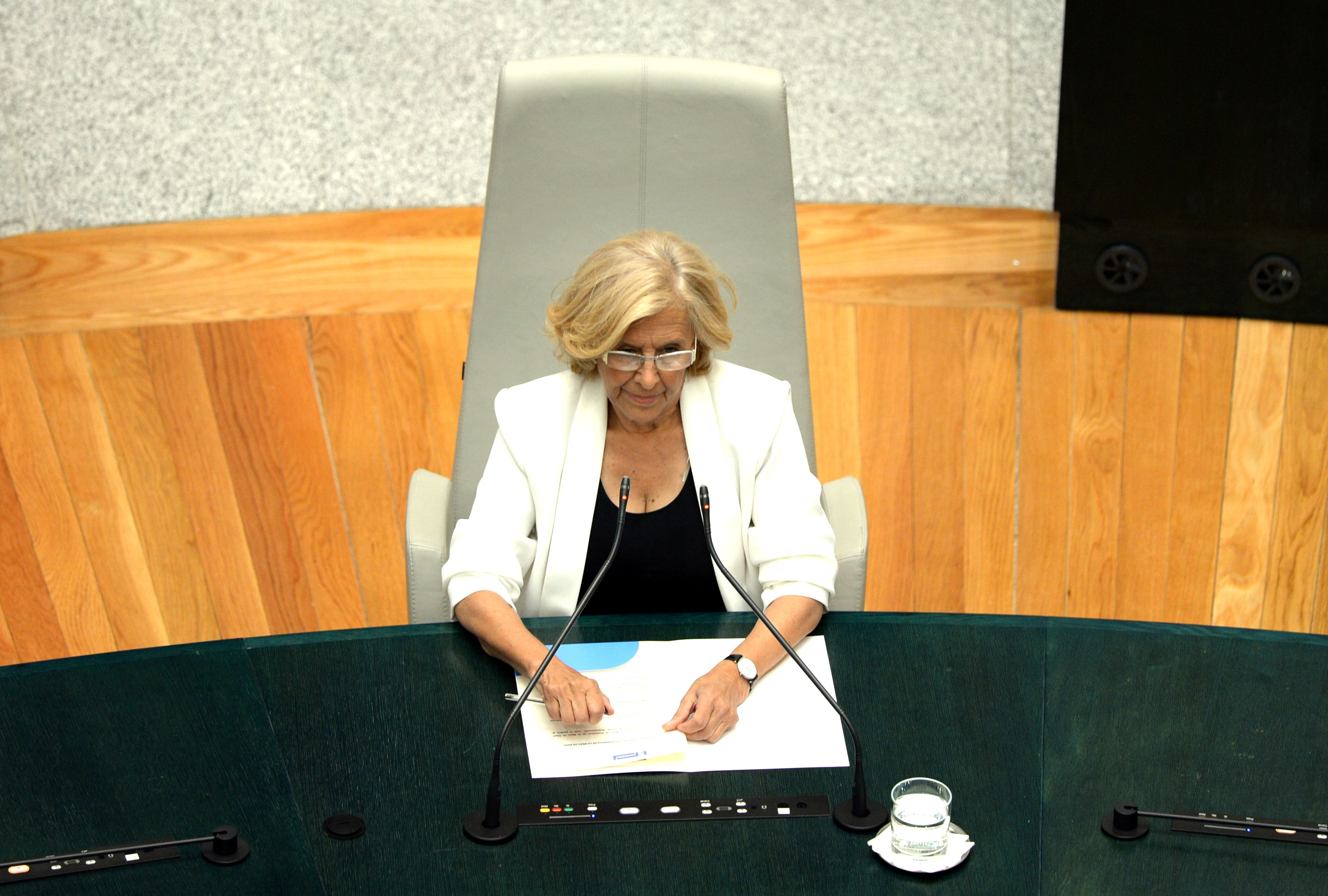 La alcaldesa de Madrid, Manuela Carmena (Foto: GETTY).