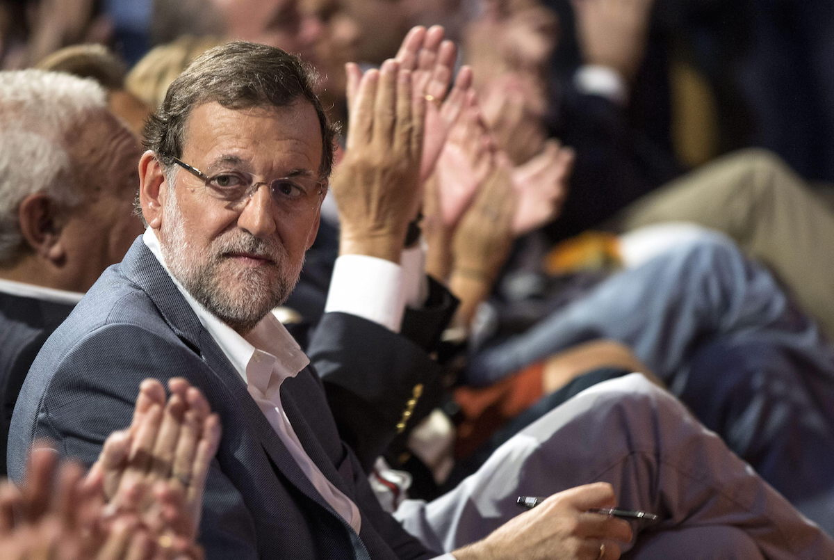 El presidente en funciones Mariano Rajoy. (Foto: EFE)