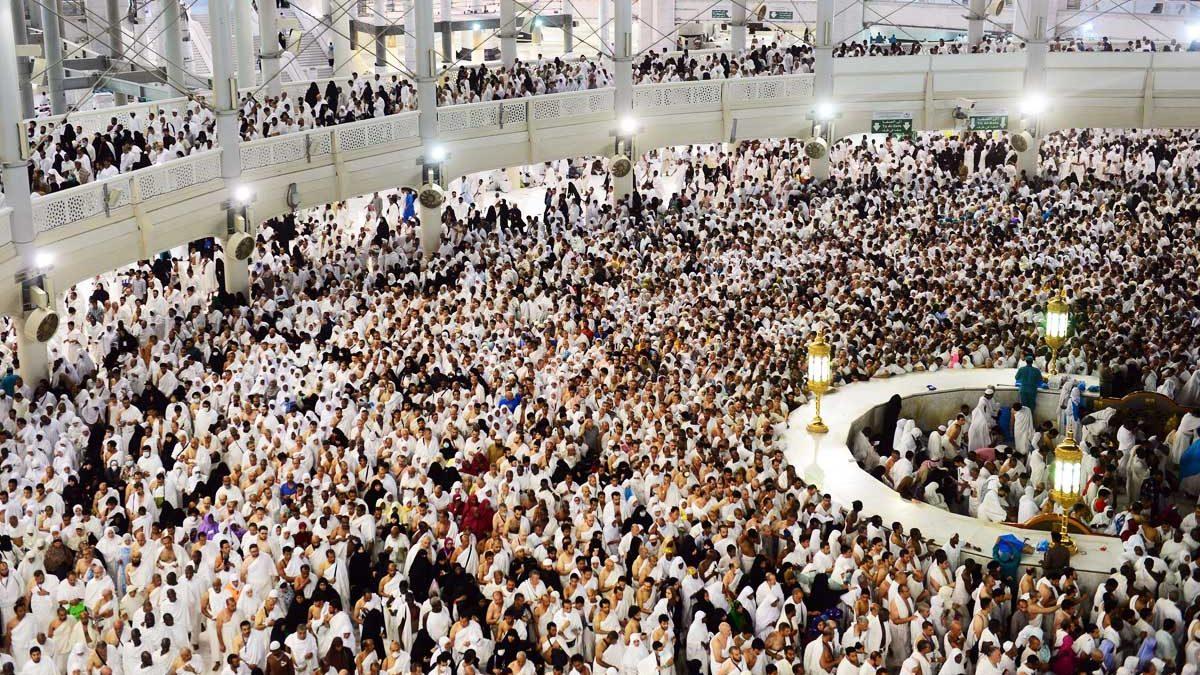 Peregrinos musulmanes en Mina, cerca de La Meca. (Foto: Getty)