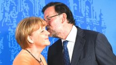 Angela Merkel y Mariano Rajoy. (Foto: Getty)