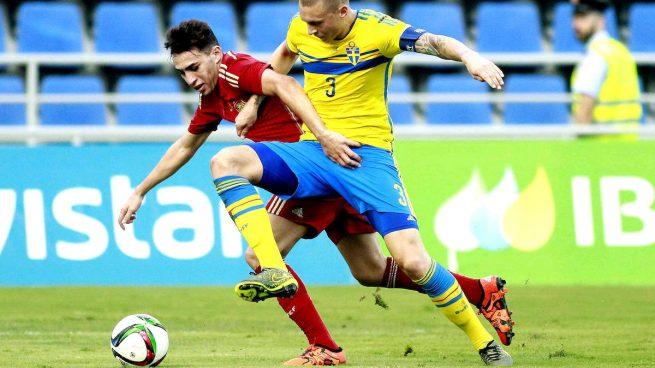 España-Suecia-sub21-Munir