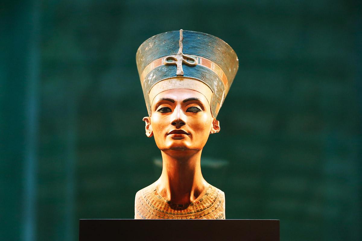 Busto de la reina Nefertiti. (Foto: Getty)