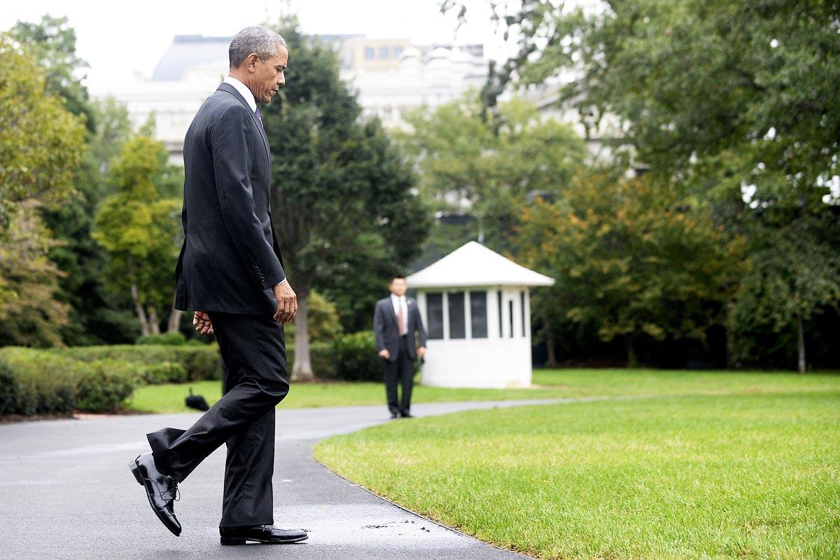 Barack Obama, este fin de semana en la Casa Blanca (Foto: Getty)