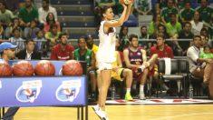 Paula Palomares consiguió 15 puntos en el concurso de triples.